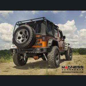 Jeep Wrangler JK Spartacus Bumper - Rear - Black