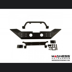 Jeep Wrangler JK Spartan Bumper High Clearance Ends w/Overrider - Front