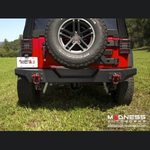 Jeep Wrangler JK Spartan Bumper - Rear - Full Width