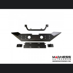 Jeep Wrangler JL Spartan Bumper High Clearance Ends w/Overrider - Front