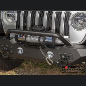 Jeep Wrangler JL Spartan Bumper Standard Ends w/Overrider - Front