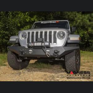 Jeep Wrangler JL Spartan Bumper w/Standard Ends - Front