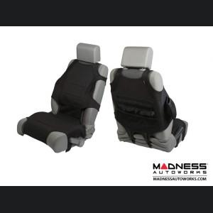 Jeep Wrangler JK/JL Seat Protector Vest Kit - Neoprene - Black