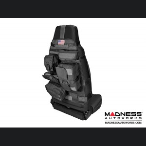 Jeep Wrangler Cargo Front Seat Cover - Black