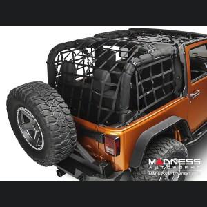 Jeep Wrangler JK Cargo Net - 2 Door - Black