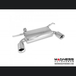 Jeep Wrangler JK Axle Back Exhaust System Kit - Stainless Steel