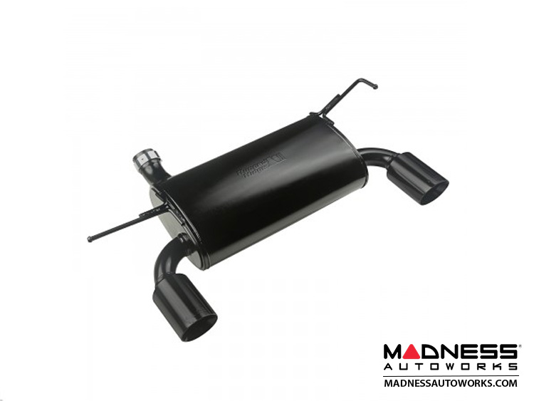 Jeep Wrangler JK Axle Back Exhaust System Kit - Black