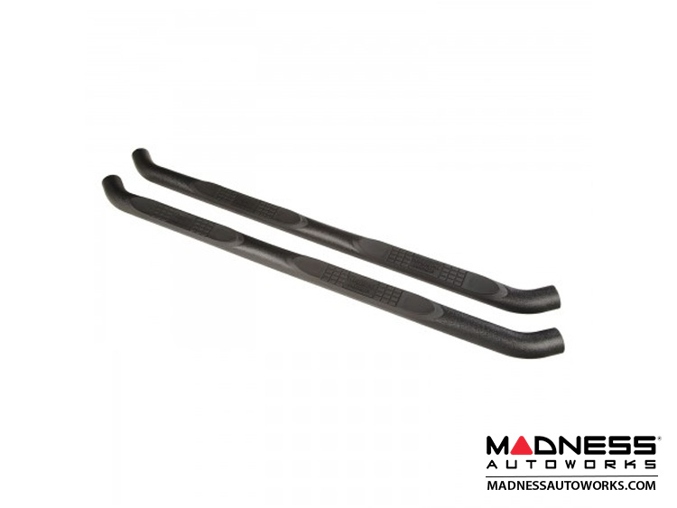 "Jeep Wrangler JL Side Steps - 3"" Black - 4Door"