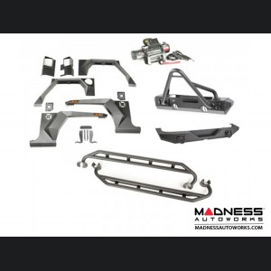 Jeep Wrangler JK XHD Bumper/Stinger Armor Package - Front & Rear