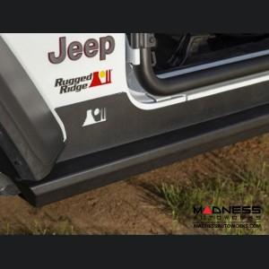 Jeep Wrangler JL XHD Rock Sliders - 4 Door