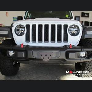 Jeep Wrangler JL Quick-Release Front License Plate Bracket