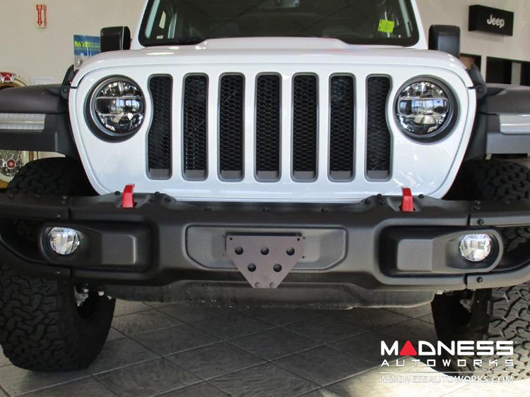 Jeep Jeep Wrangler Jl Quick Release Front License Plate Bracket