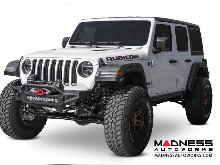 Jeep Wrangler JL Front Bumper - Stealth Fighter