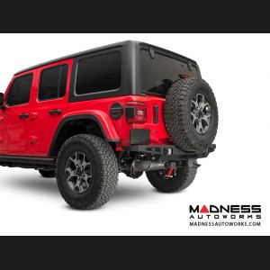 Jeep Wrangler JL Rear Bumper w/ Backup Sensors - Stealth Fighter