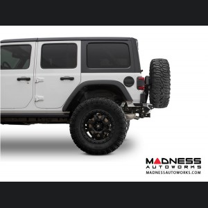 Jeep Wrangler JL Tire Carrier - Stealth Fighter