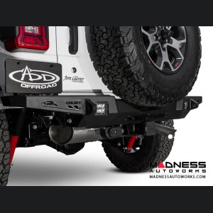 Jeep Wrangler JL Rear Bumper - Stealth Fighter