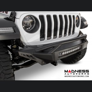 Jeep Wrangler JL Top Hood Front Bumper - Stealth Fighter