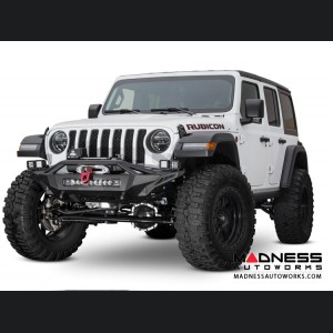Jeep Wrangler JL Winch Bumper - Front - Stealth Fighter