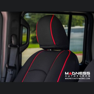 Jeep Wrangler JL Seat Covers - Front Seats - Custom Neoprene Design
