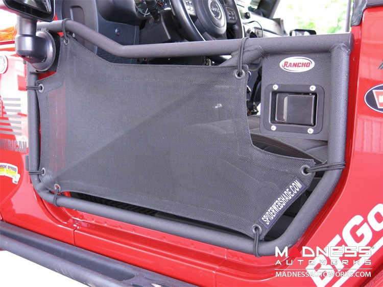 Jeep Wrangler JK Shade Skins - Front - 2 Door