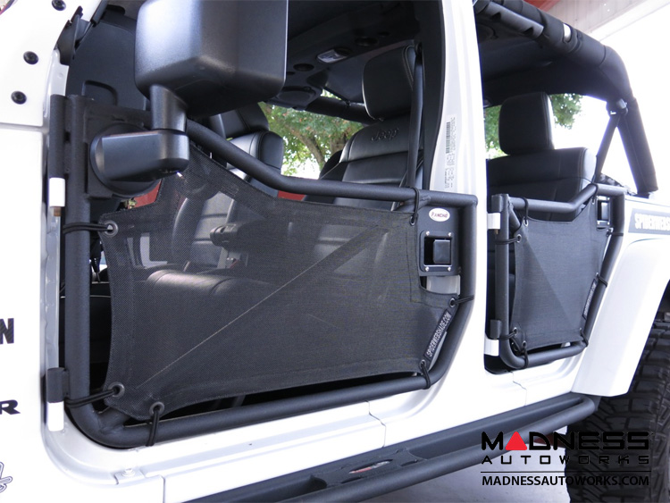 Jeep Wrangler JK Shade Skins - 4 Door