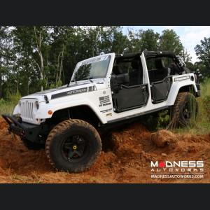 Jeep Wrangler JK Tube Doors - Front - 4 Door