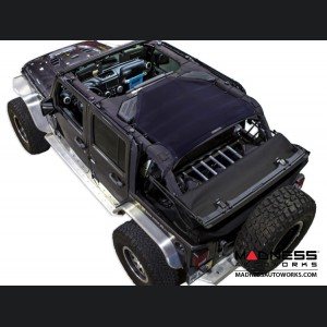 Jeep Wrangler JK Top Trailmesh - 4Door - Rear