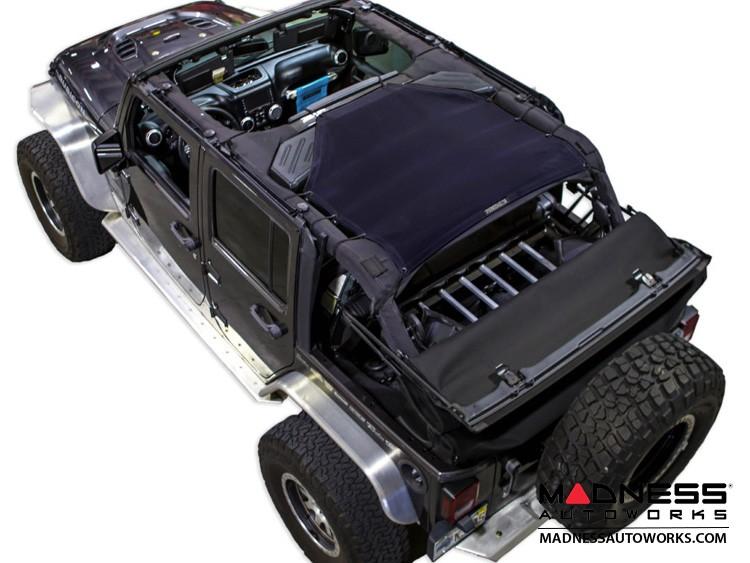 Jeep Wrangler JK Top Trailmesh - 4Door - Rear