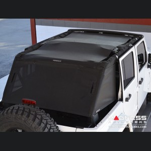 Jeep Wrangler JK Unlimited ShadeCage Trailmesh - 4 Door