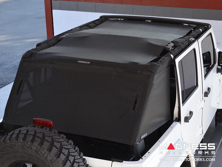 Jeep Wrangler JK Unlimited ShadeCage Trailmesh - 4 Door