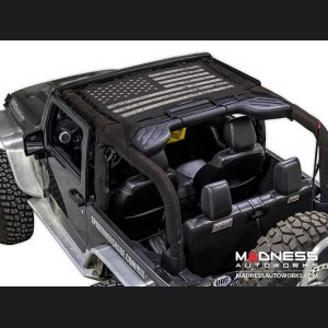 Jeep Wrangler JK JKini - Tactical Flag Distressed - 2 Door