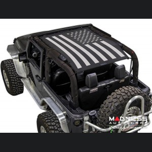 Jeep Wrangler JK SW1 Trailmesh - Tactical Flag Solid - 2 Door