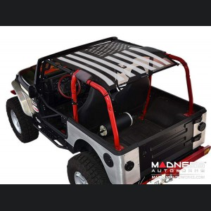 Jeep Wrangler TJ SW1 - Tactical Flag - Solid