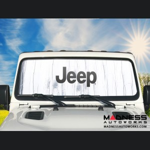 Jeep Wrangler LJ Sun Shield - Metallic
