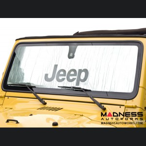 Jeep Wrangler JK Sun Shield - Metallic