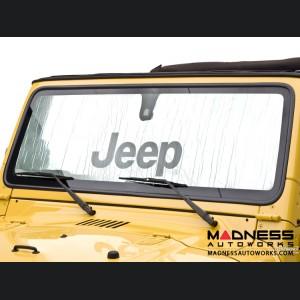 Jeep Wrangler JK Sun Shield - Metallic