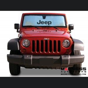 Jeep Wrangler JL Sun Shield - Metallic