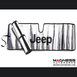 Jeep Wrangler TJ Sun Shield - Metallic