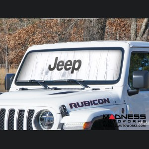 Jeep Cherokee XJ Sun Shield - Metallic