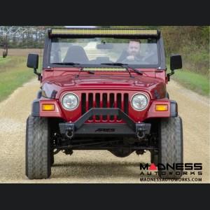 Jeep Wrangler TJ TrailCrusher Front Bumper w/ Brush Guard
