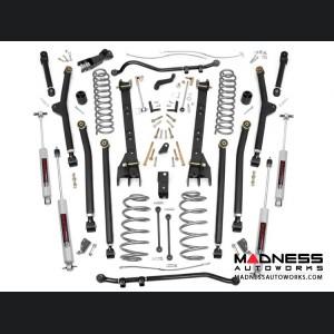 "Jeep Wrangler TJ Unlimited Long Arm Suspension Lift Kit - 4"" Lift"