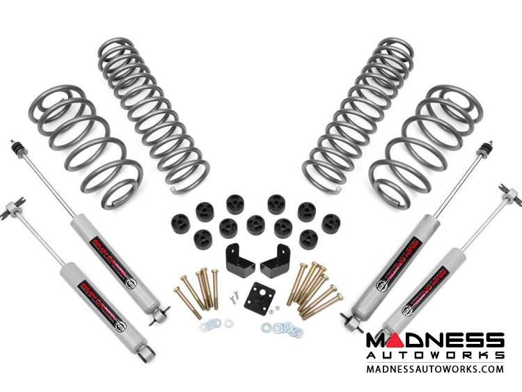 "Jeep Wrangler TJ Combo Lift Kit w/N3.0 Shocks - 3.75"" - 4 Cyl"