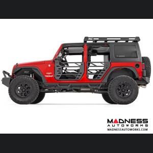 Jeep Wrangler JK Unlimited Steel Tube Doors - Front & Rear