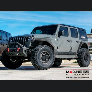 "Jeep Wrangler JL Custom Wheels by Black Rhino - 17 x 9.5"" - Armory - Matte Gunblack"