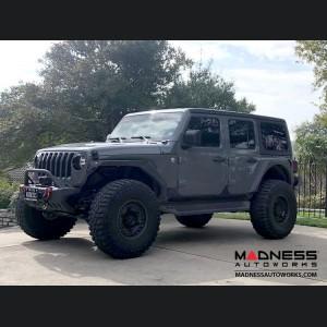 "Jeep Wrangler JL Custom Wheels by Black Rhino - 17 x 9.5"" - Armory - Matte Gunblack"