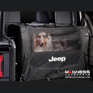 Jeep Wrangler JL Collapsible Pet Kennel