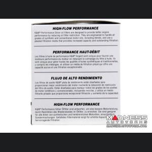Alfa Romeo Giulia Oil Filter - 2.0L - K&N - Performance Silver