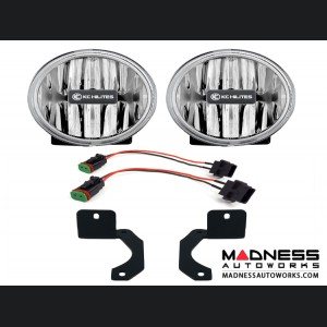 Jeep Wrangler JL Rubicon Gravity G4 LED Fog Lights - Clear