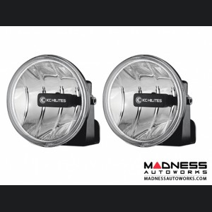 Jeep Wrangler JL Gravity LED G4 Universal LED Fog Pair Pack System - Clear