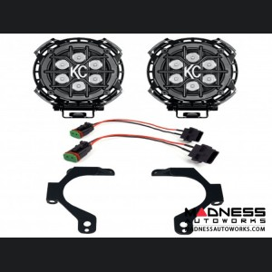 Jeep Wrangler JL Off-Road LZR LED Lights for Fog Pockets